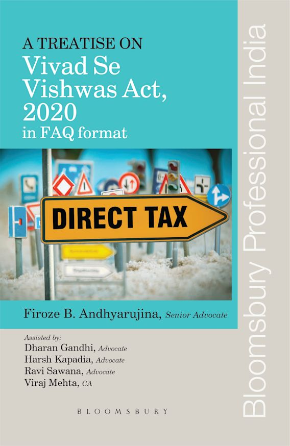 A Treatise on Vivad Se Vishwas Act, 2020 in FAQ format cover