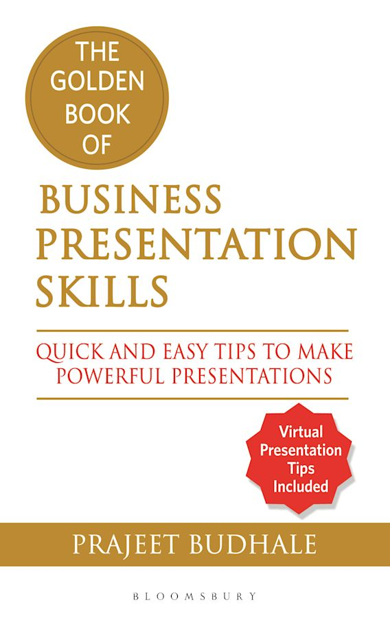 The Golden Book of Business Presentation Skills cover