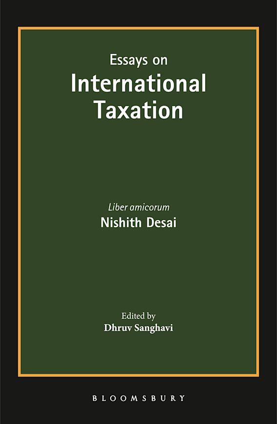 Essays on International Taxation cover