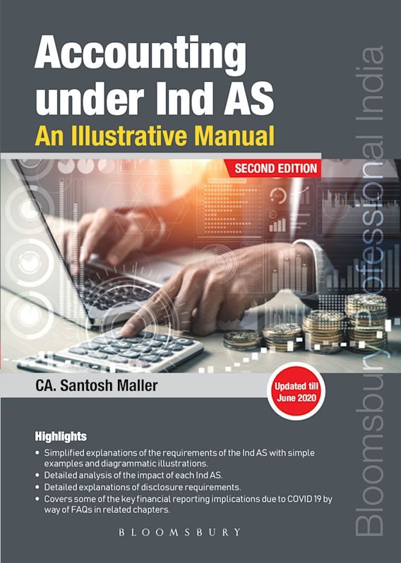 Accounting under IndAS: An Illustrative Manual cover