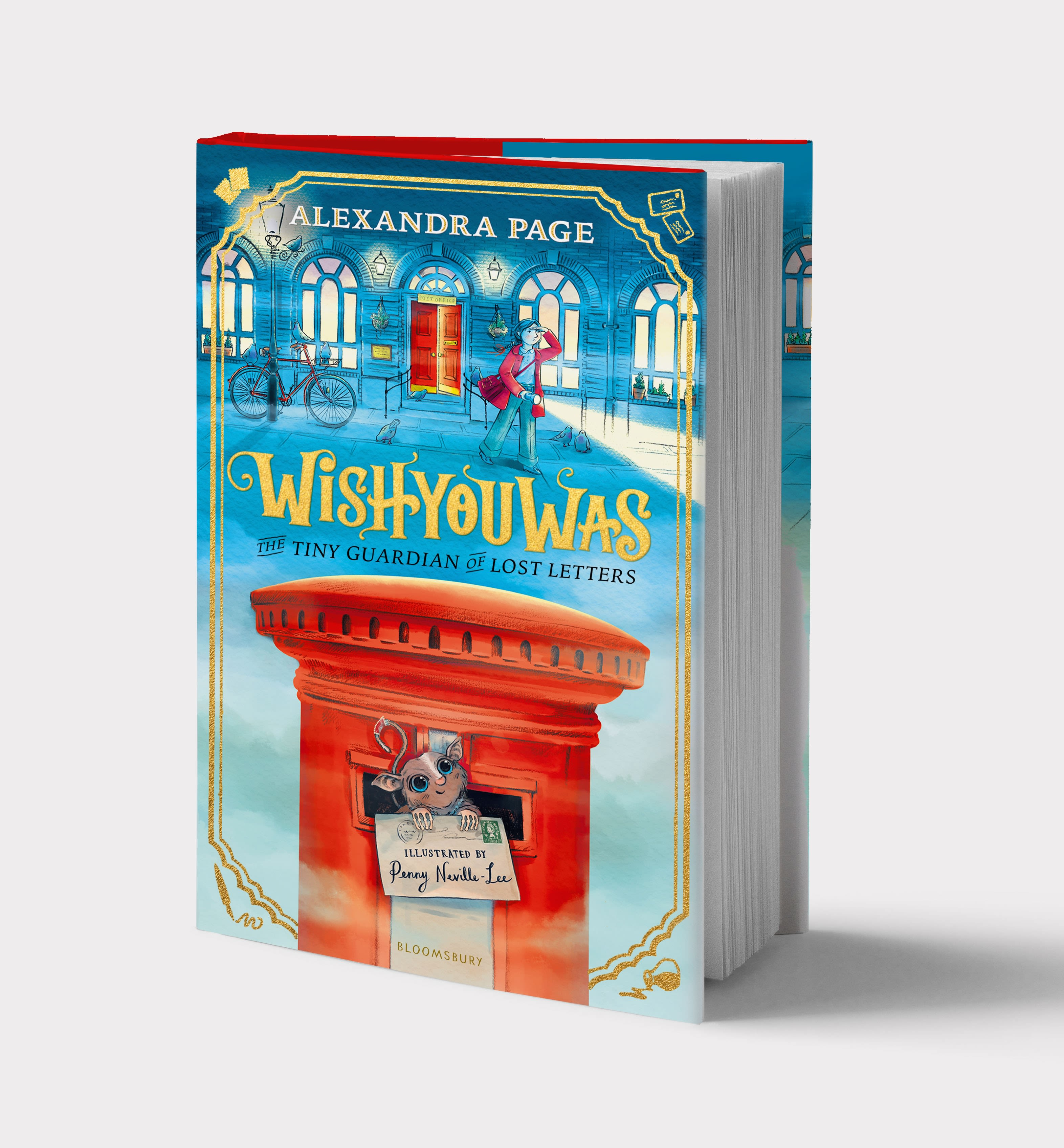 Wishyouwas: The tiny guardian of lost letters: Alexandra Page: Bloomsbury  Children's Books