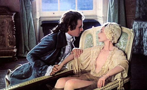 Production image of Barry Lyndon