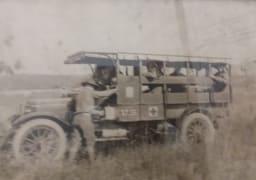Image showing World War I ambulance Pittsburgh 20th Century Club.
