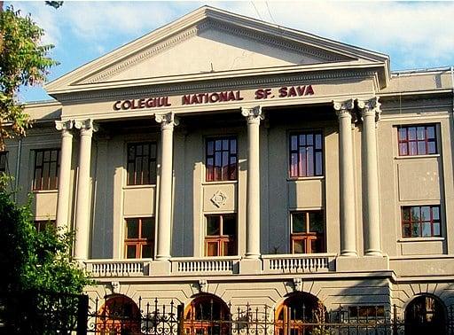 Image showing Saint Sava National College (Bucharest)