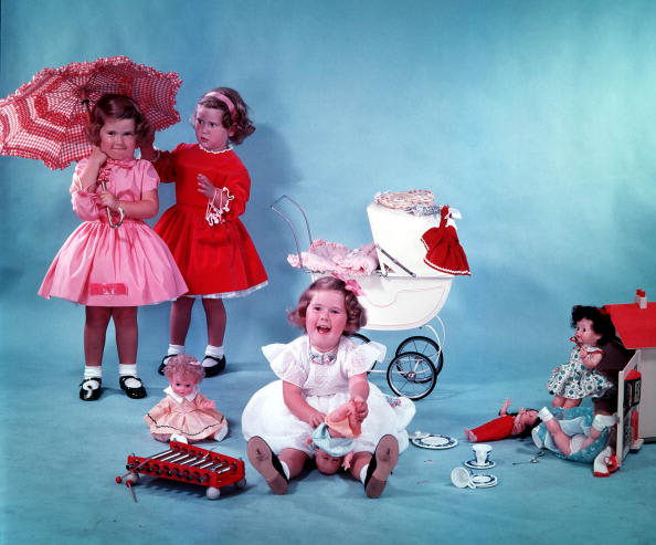 Image of girls at play © Getty / Popperfoto / Contributor