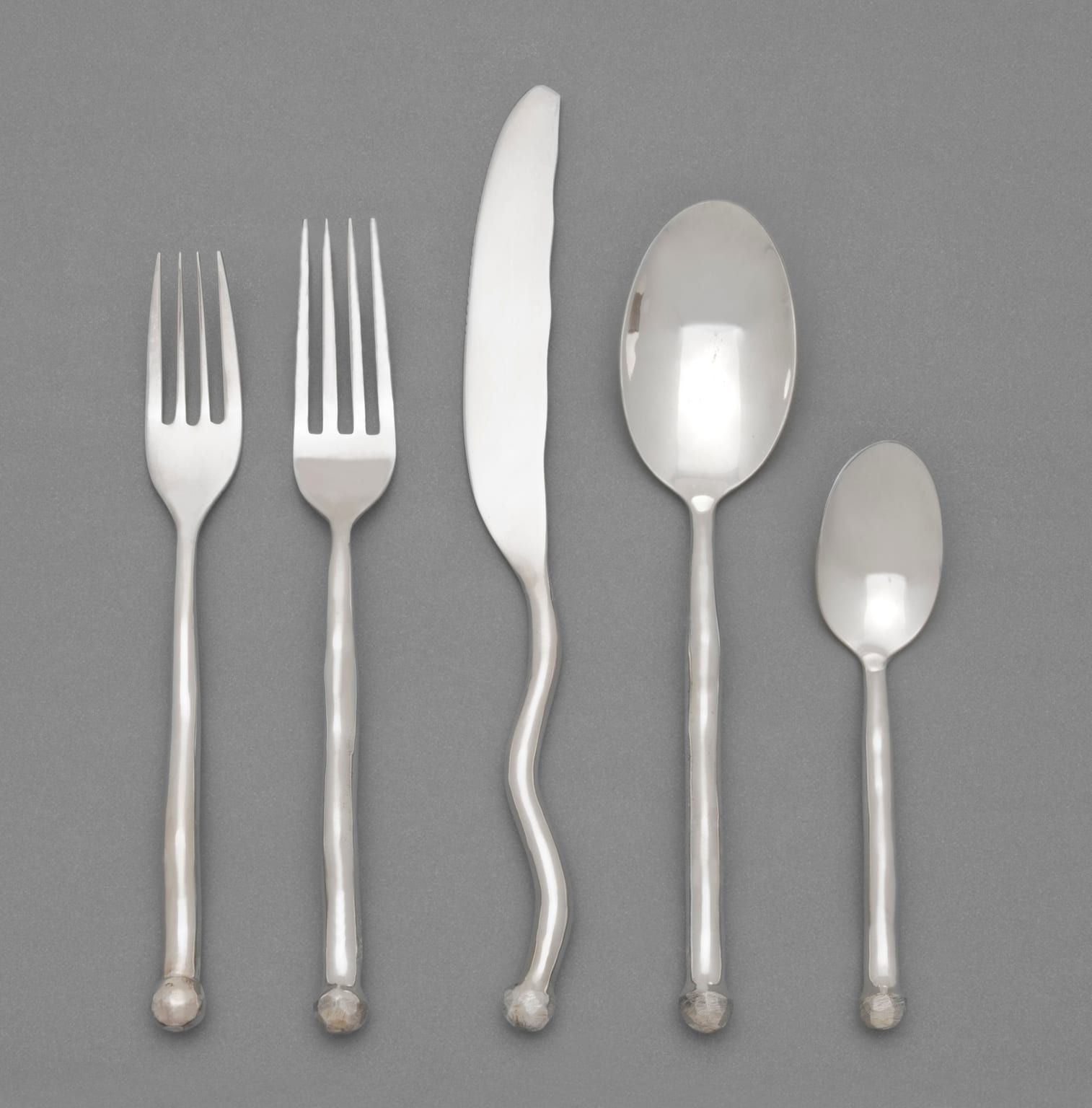 Sphere Cutlery by Izabel Lam. © Philadelphia Museum of Art