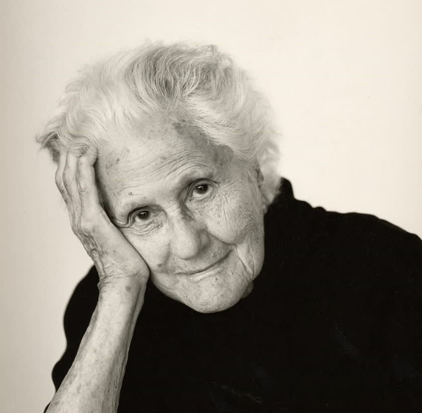 Portrait of Eva Zeisel (Courtesy Brigitte Lacombe, c. 2000)