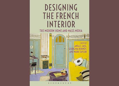 Front cover of Designing the French Interior (Cover: Bloomsbury Publishing)