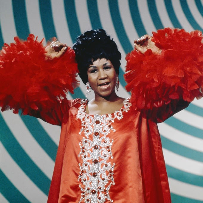 Aretha Franklin appearance on The Andy Williams Show, 1969