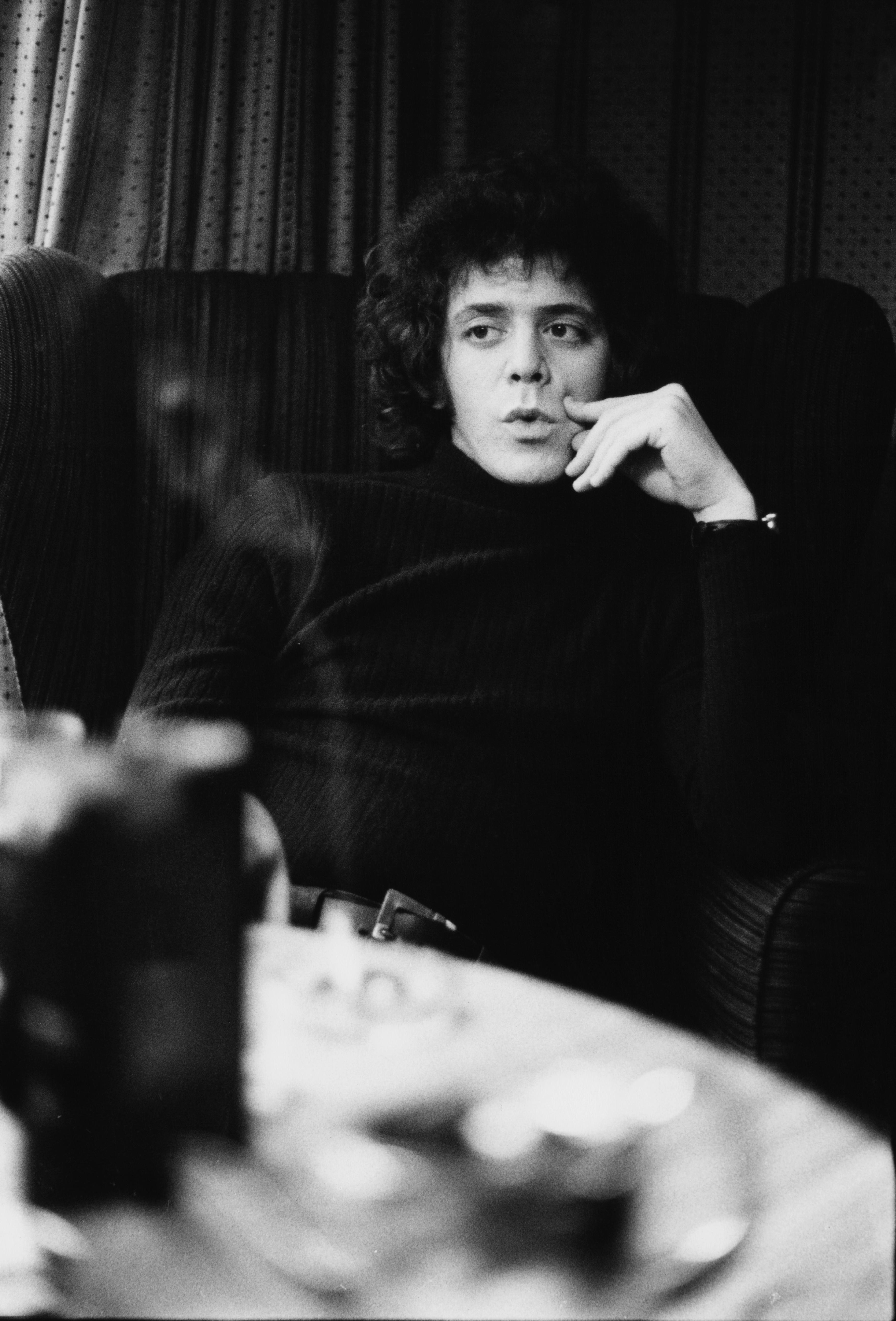 American singer-songwriter and founder member of the Velvet Underground, Lou Reed (Getty Images)