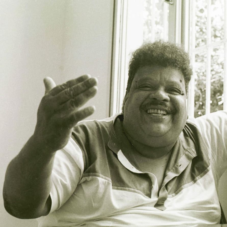 Photographic portrait of Tim Maia, 1987