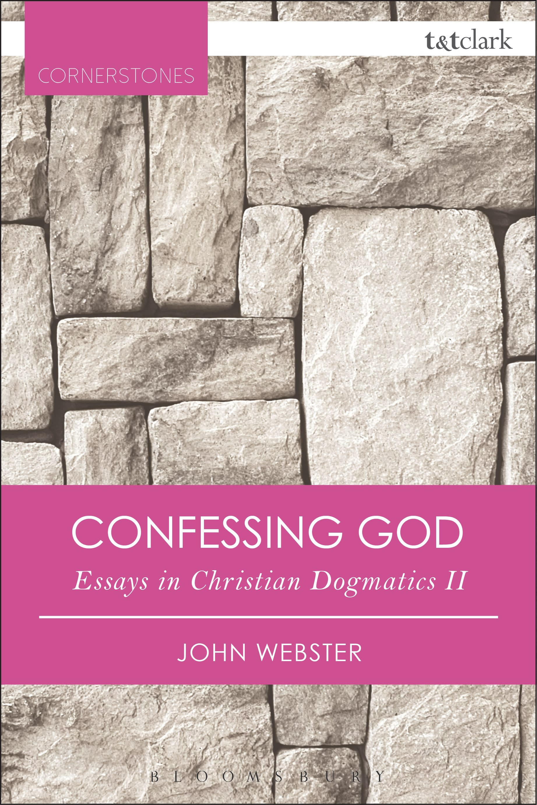 Book cover for John Webster's Confessing God (Bloomsbury Publishing)