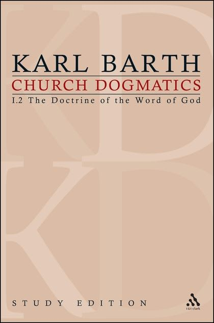 Book cover for Karl Barth's Church Dogmatics, vol. 1 (Bloomsbury Publishing)