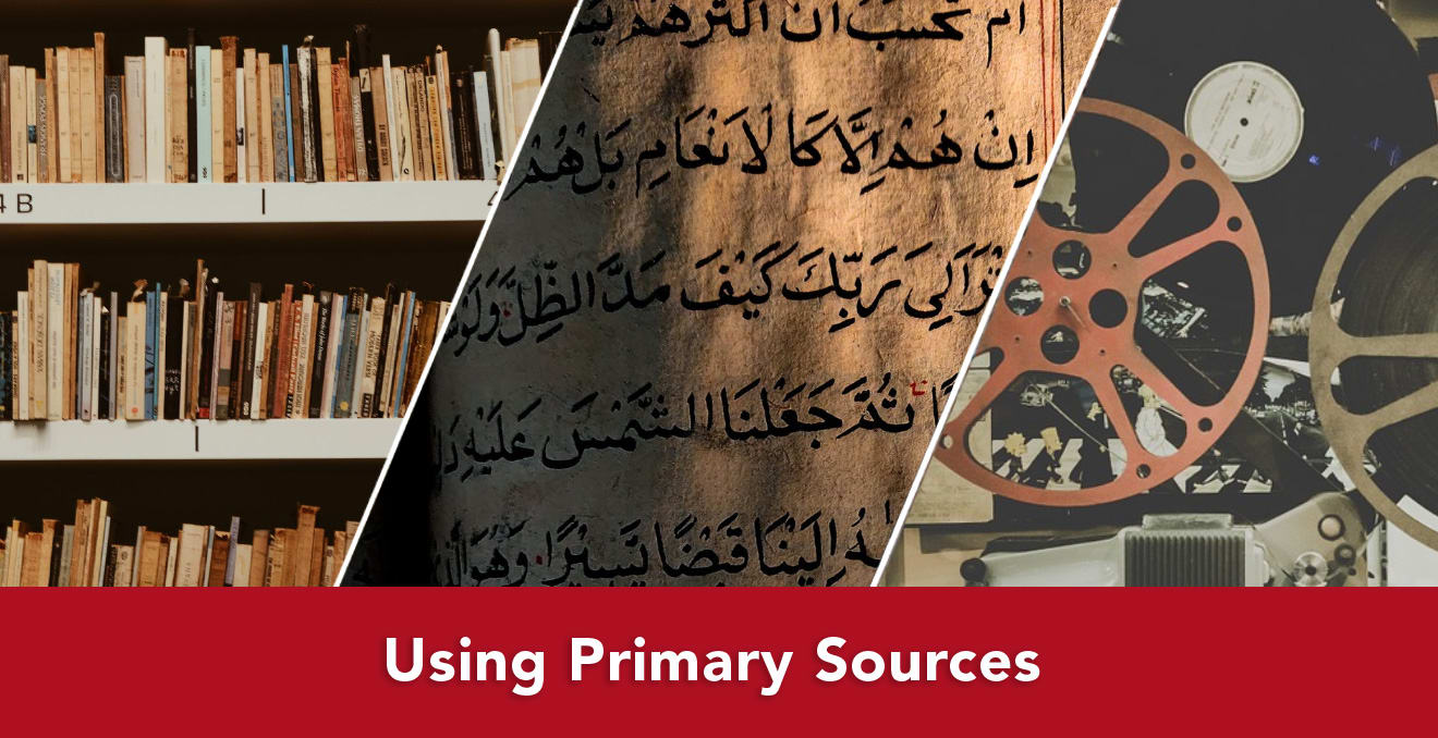 Using Primary Sources