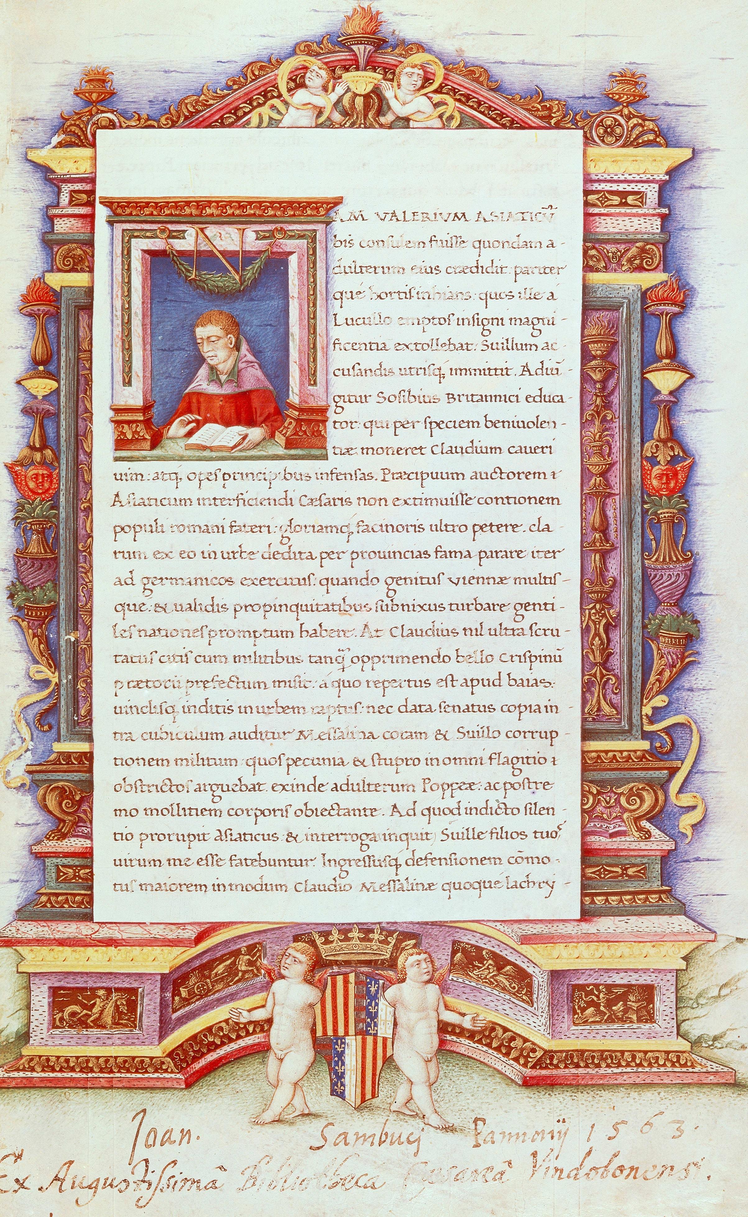 Image showing a Latin text manuscript