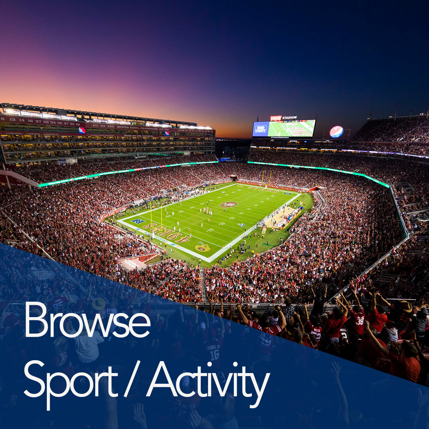 Browse Sports and Activities