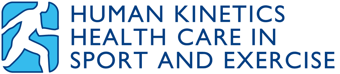 Human Kinetics Health Care in Sport and Exercise  logo