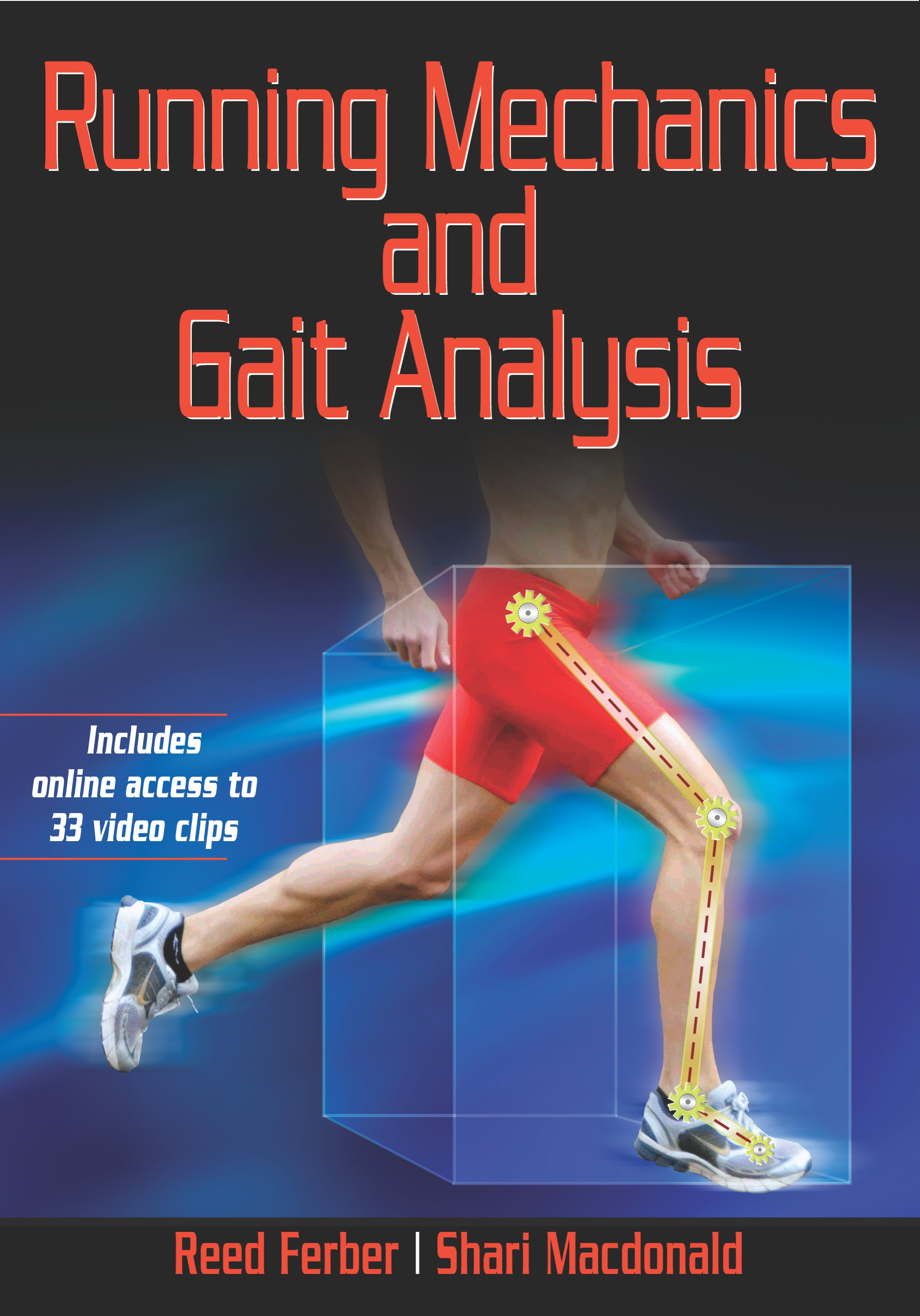 Book cover for IncRunning Mechanics and Gait Analysis