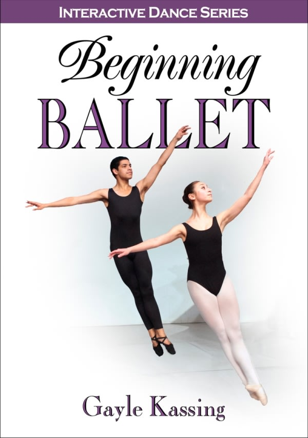 Book cover for Beginning Ballet (Human Kinetics). Select image to read ebook.