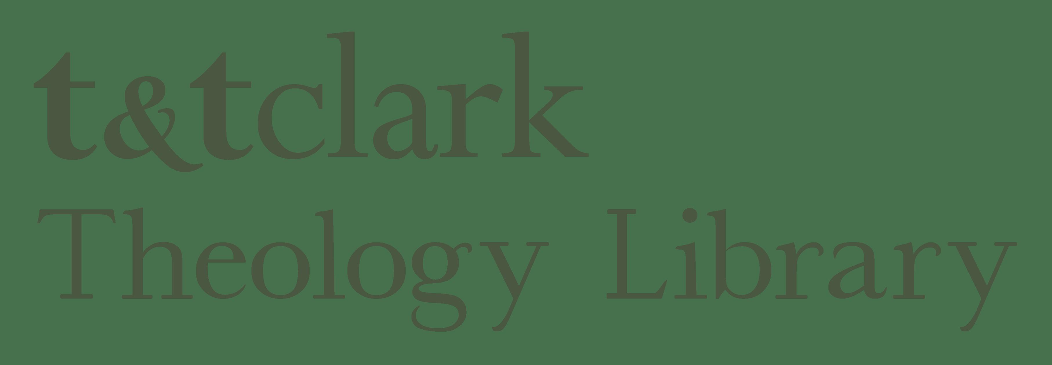 T&T Clark Theology Library logo