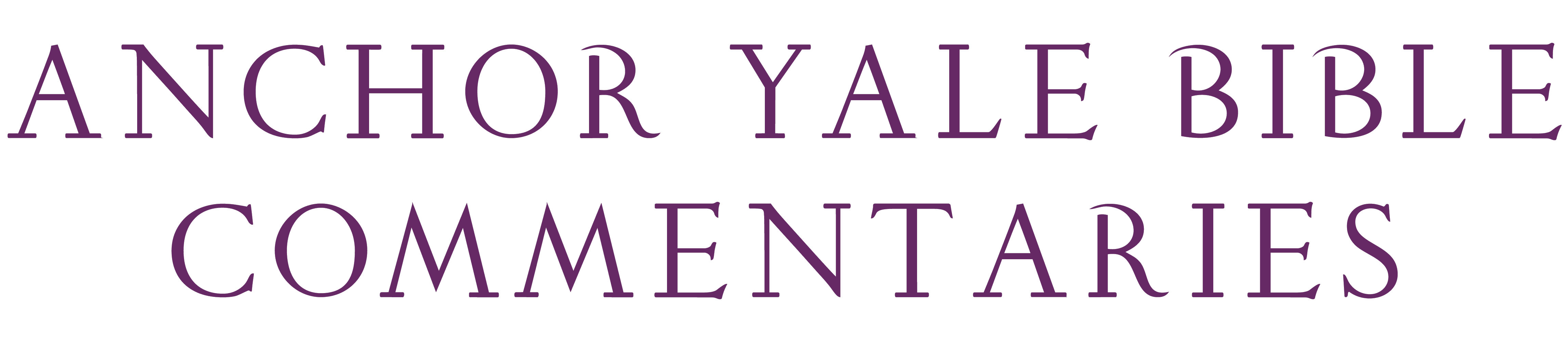 Anchor Yale Bible Commentaries logo