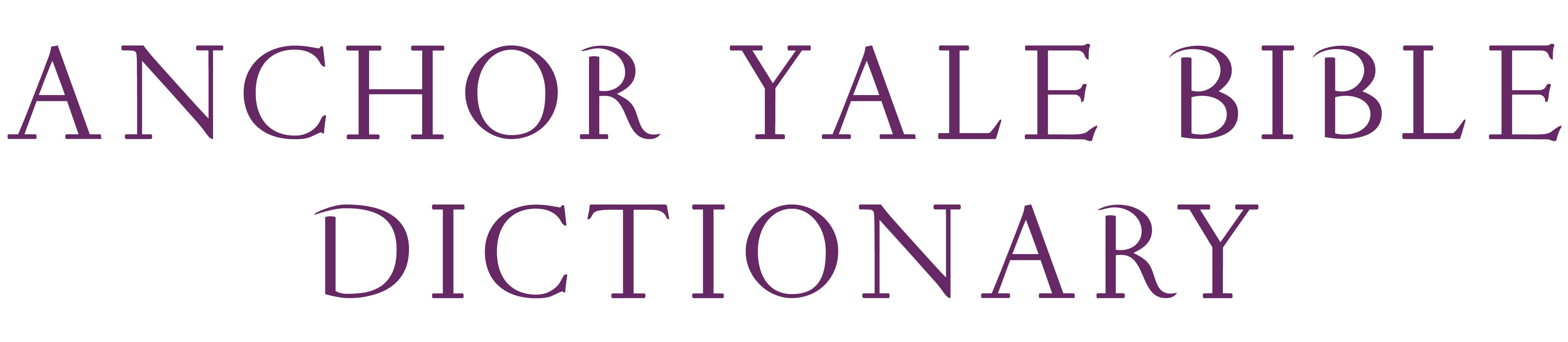 Anchor Yale Bile Dictionary logo