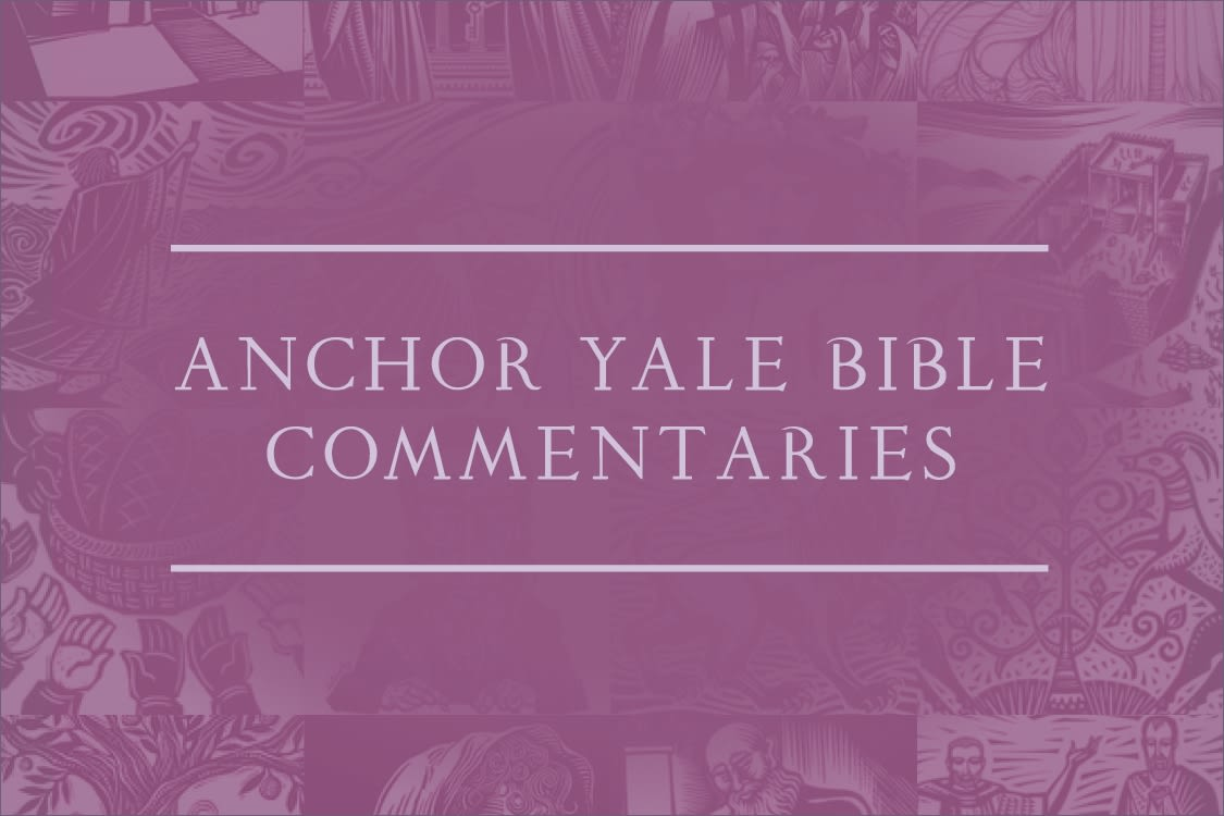 Anchor Yale Bible Commentaries