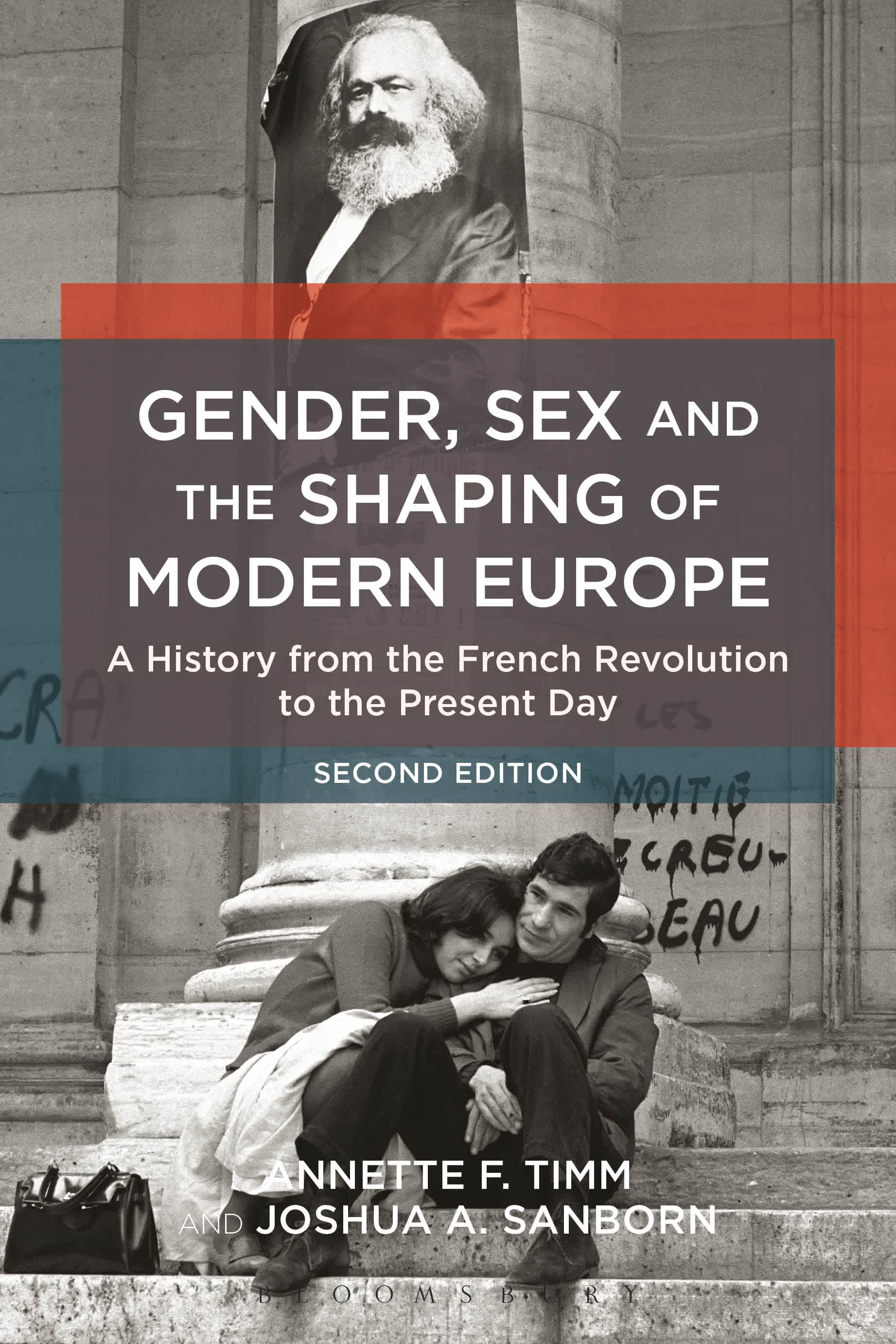 The cover of Gender, Sex and the Shaping of Modern Europe.