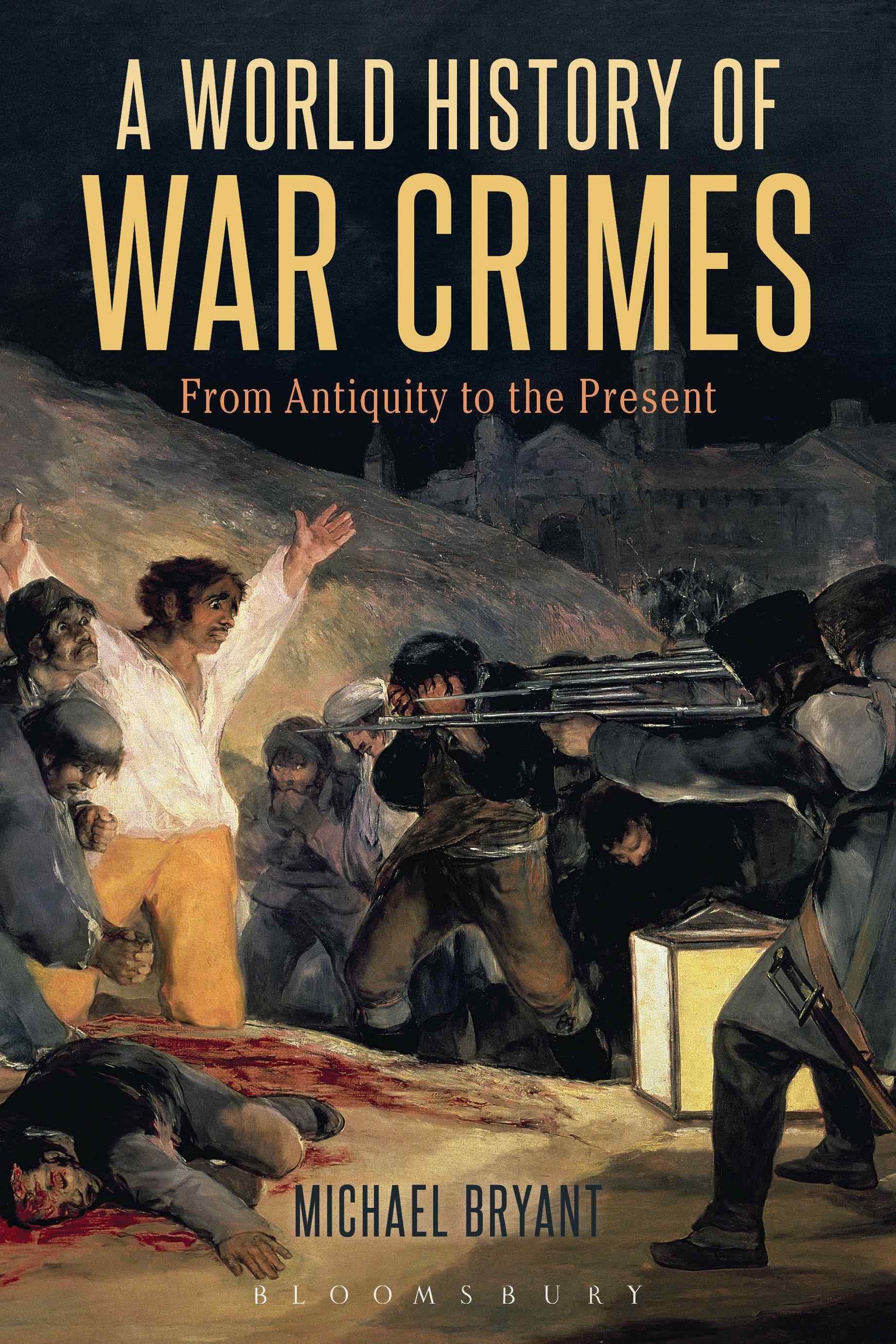 The cover of A World History of War Crimes.