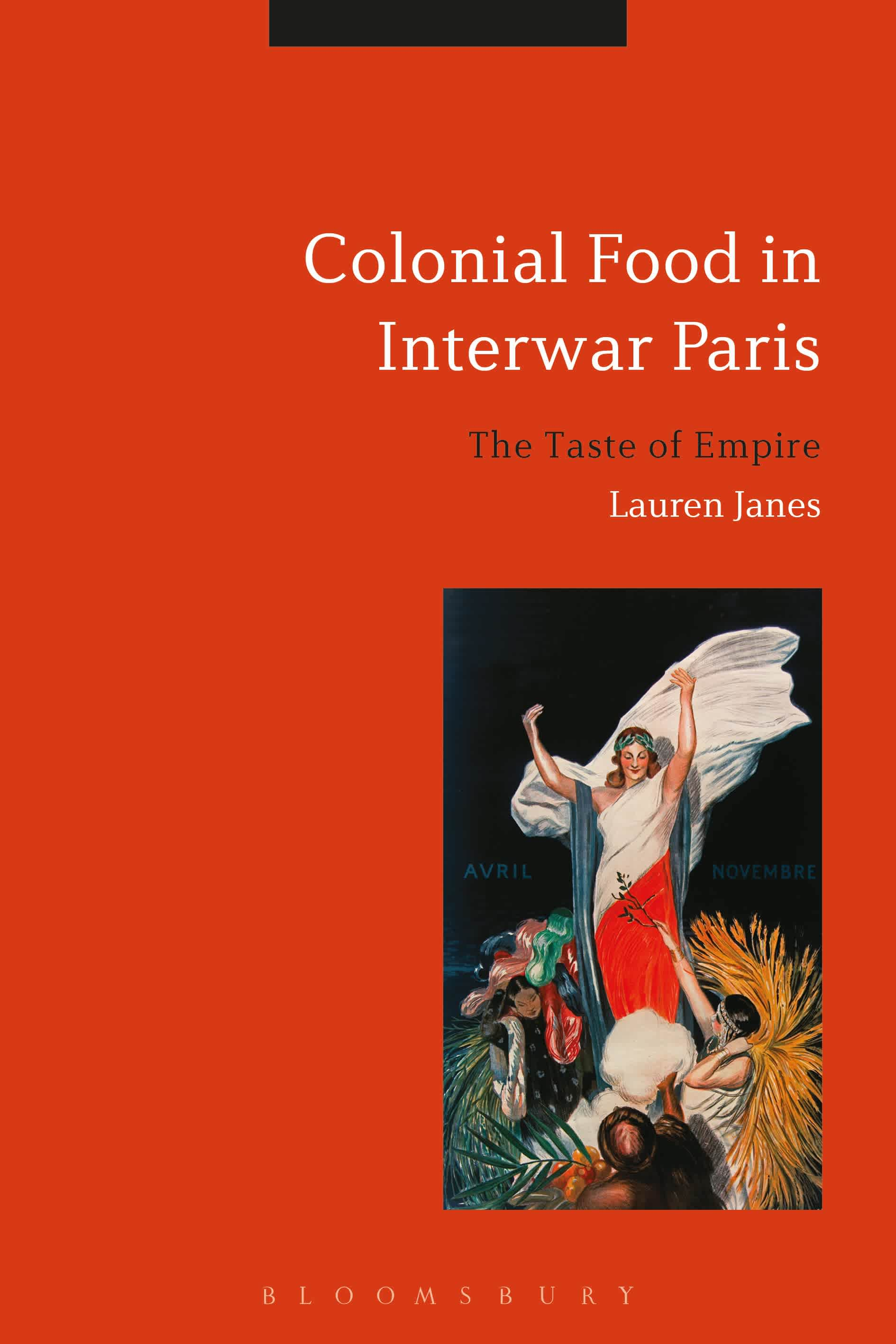 The cover of Colonial Food in Interwar Paris.