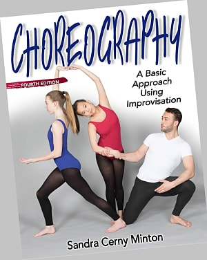 Book cover for Choreography (Human Kinetics). Select image to read ebook.