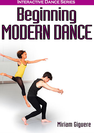 Book cover for Beginning Modern Dance (Human Kinetics). Select image to read ebook.