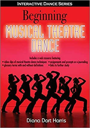 Book cover for Beginning Musical Theatre Dance (Human Kinetics). Select image to read ebook.