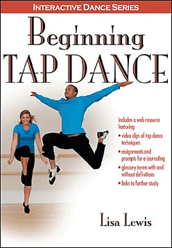 Book cover for Beginning Tap Dance (Human Kinetics). Select image to read ebook.