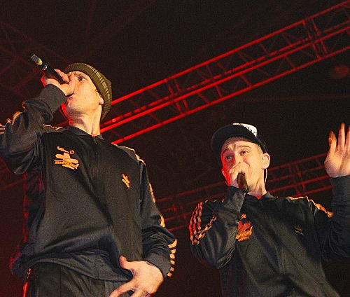 Beastie Boys at Trans Musicales 2004 in Rennes (WikiMedia Commons)
