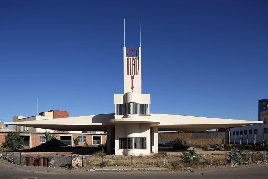 Photo of Fiat Tagliero, Asmara, Eritrea