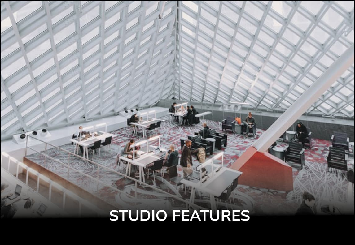 View all STUDIO Features