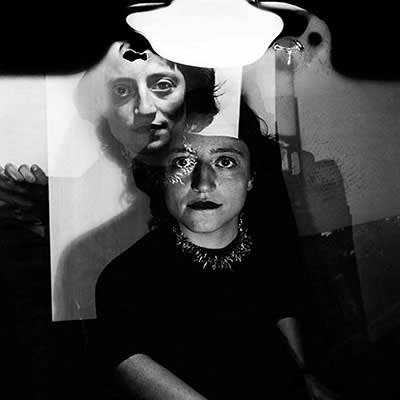 Nora Mitrani photographed by Fernando Lemos