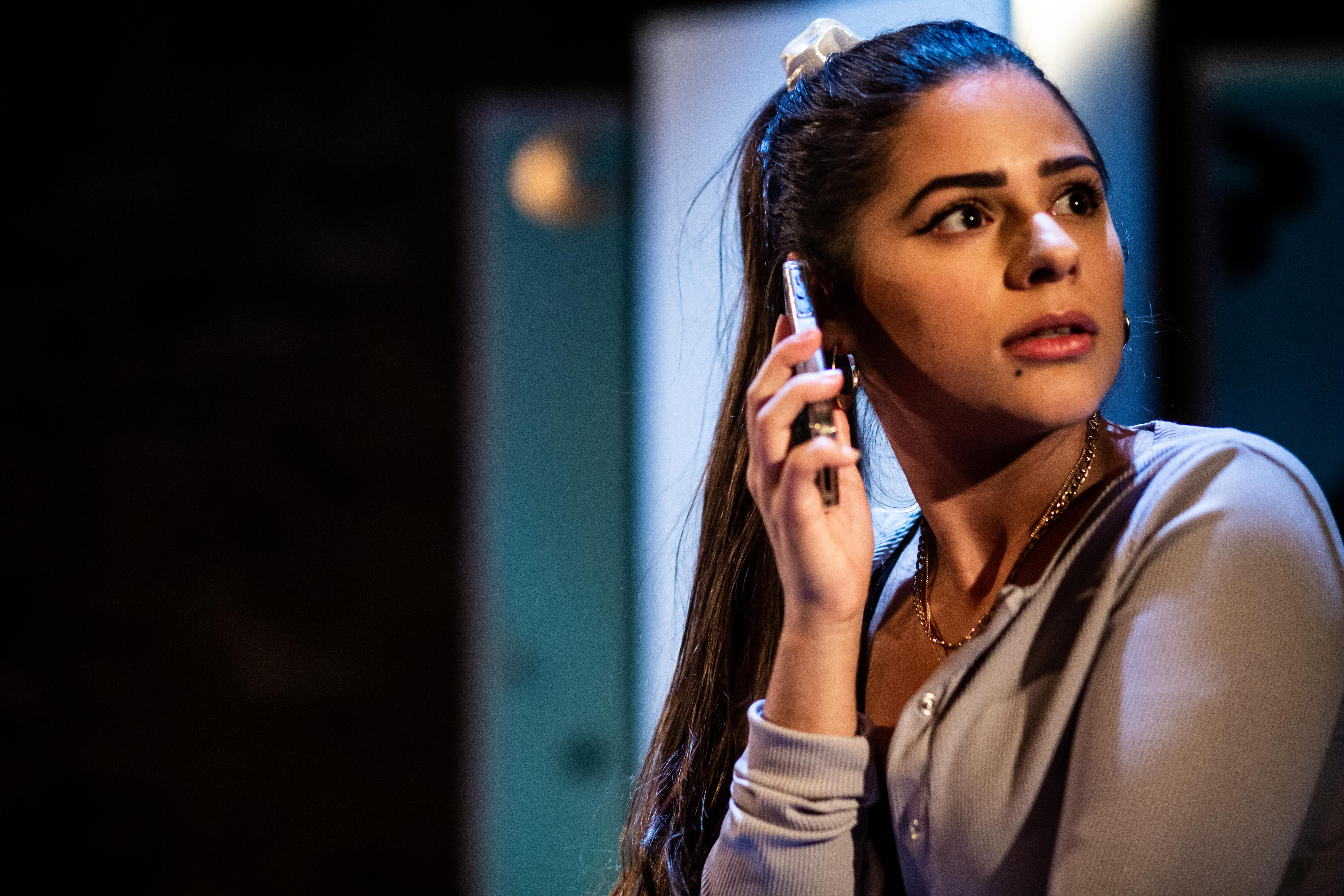 Nyla Levy as Yasmin in Does My Bomb Look Big In This?