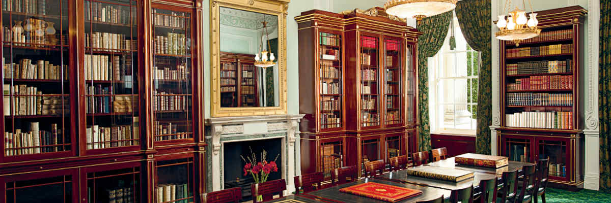 The Arcadian Library reading room