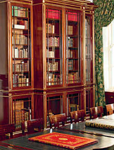 The Arcadian Library's reading room