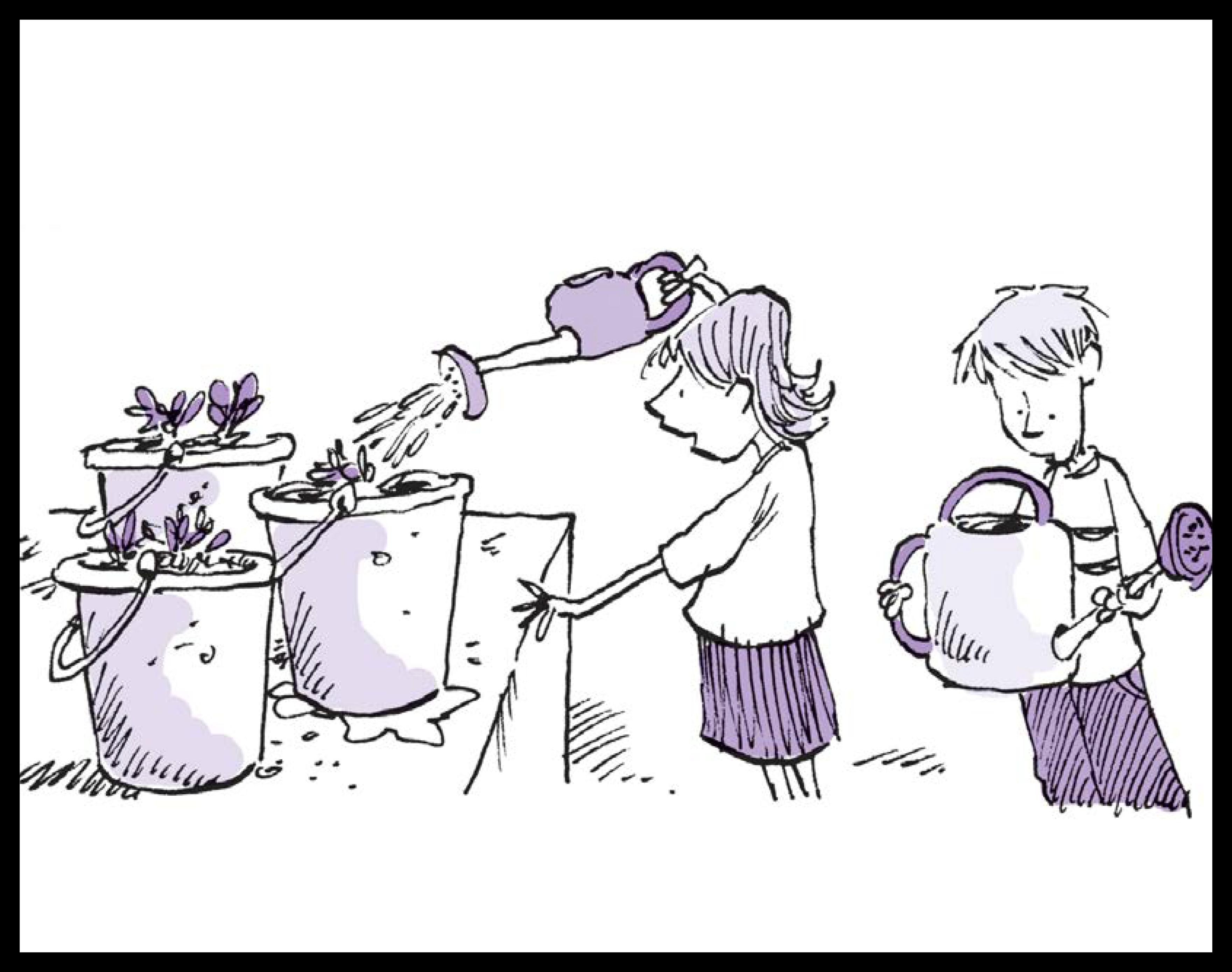Habitats: Growing vegetables