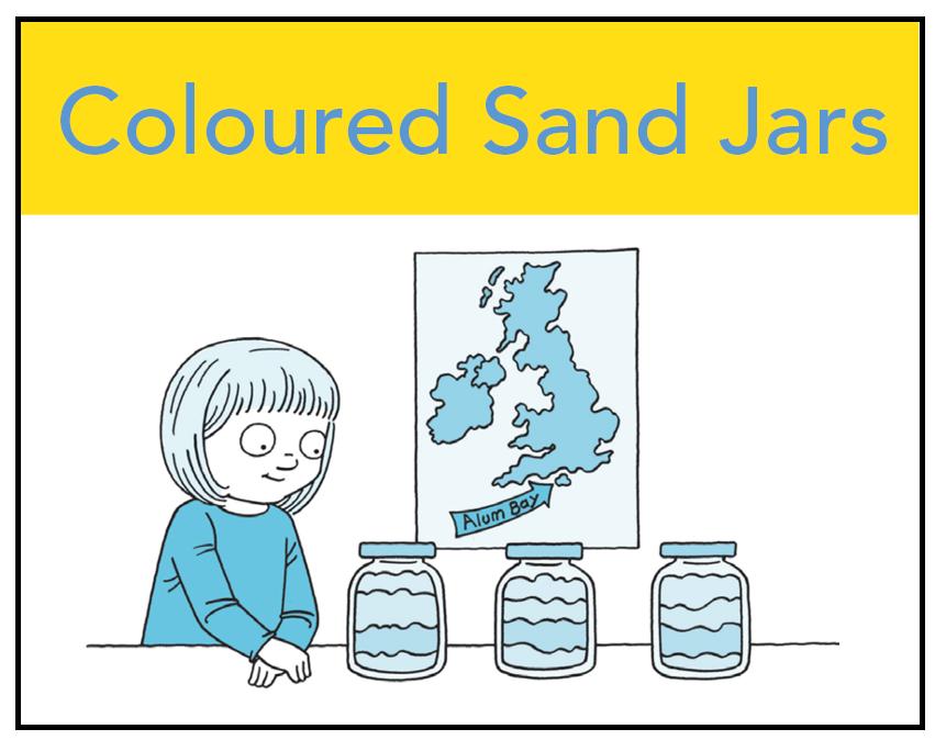 Coloured Sand Jars
