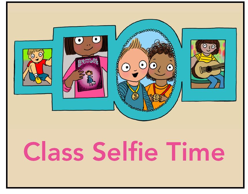 Class selfie time