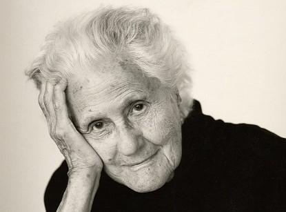 Portrait of Eva Zeisel, Courtesy Brigitte Lacombe, c. 2000