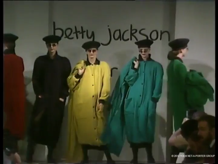Betty Jackson, Autumn/Winter 1985