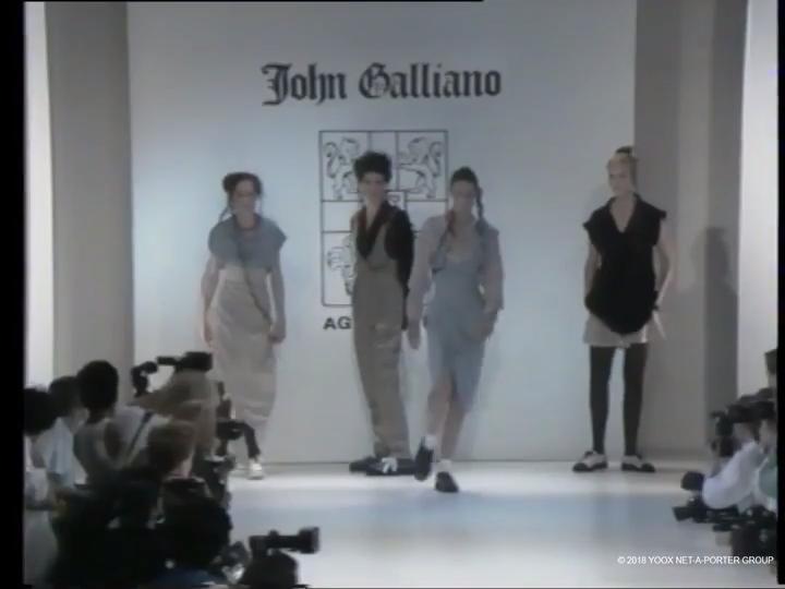John Galliano, Spring/Summer 1987