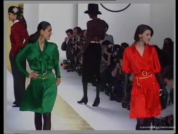 Chanel, Autumn/Winter 1988