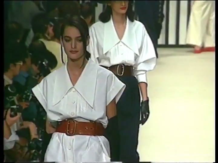 Karl Lagerfeld, Spring/Summer 1989
