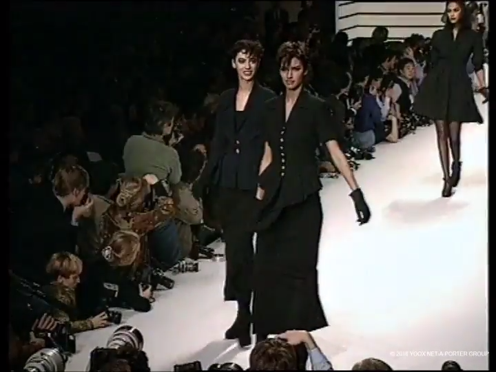 Karl Lagerfeld, Spring/Summer 1992